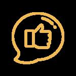 orange thumbs up icon 1